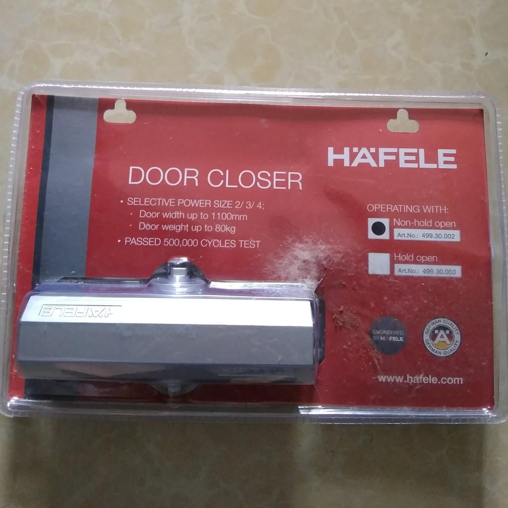 Tay đẩy thủy lực Hafele phù hợp với nhiều loại cửa hiện nay